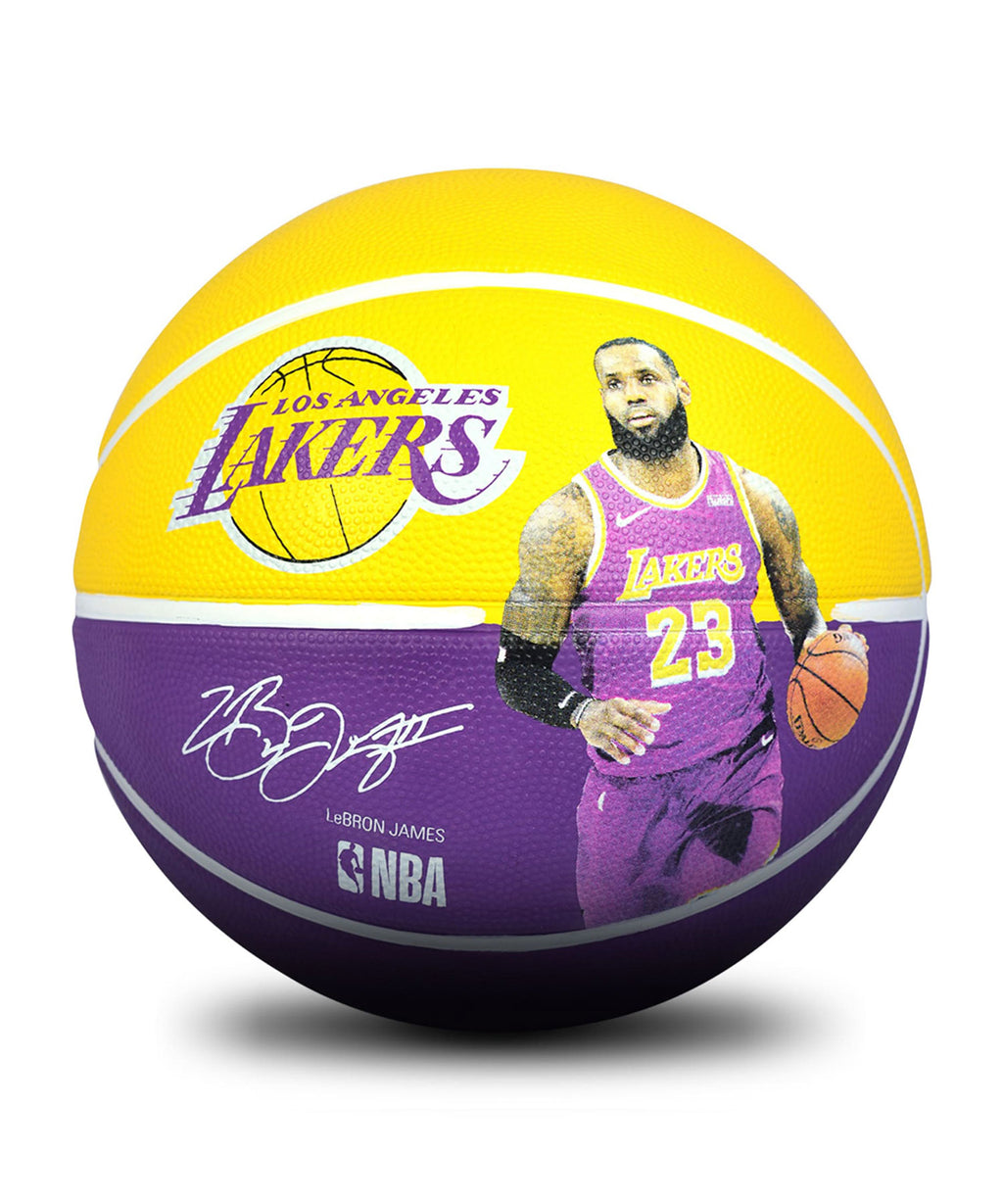 LeBron James NBA Player Outdoor Ball