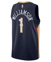 Zion Williamson New Orleans Pelicans Nike Icon Edition Jersey