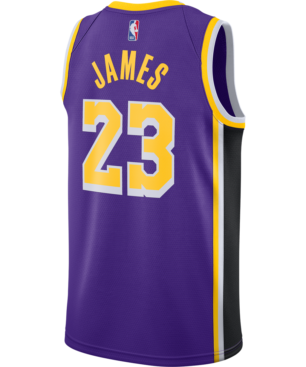Lebron James LA Lakers Nike Statement Edition Jersey