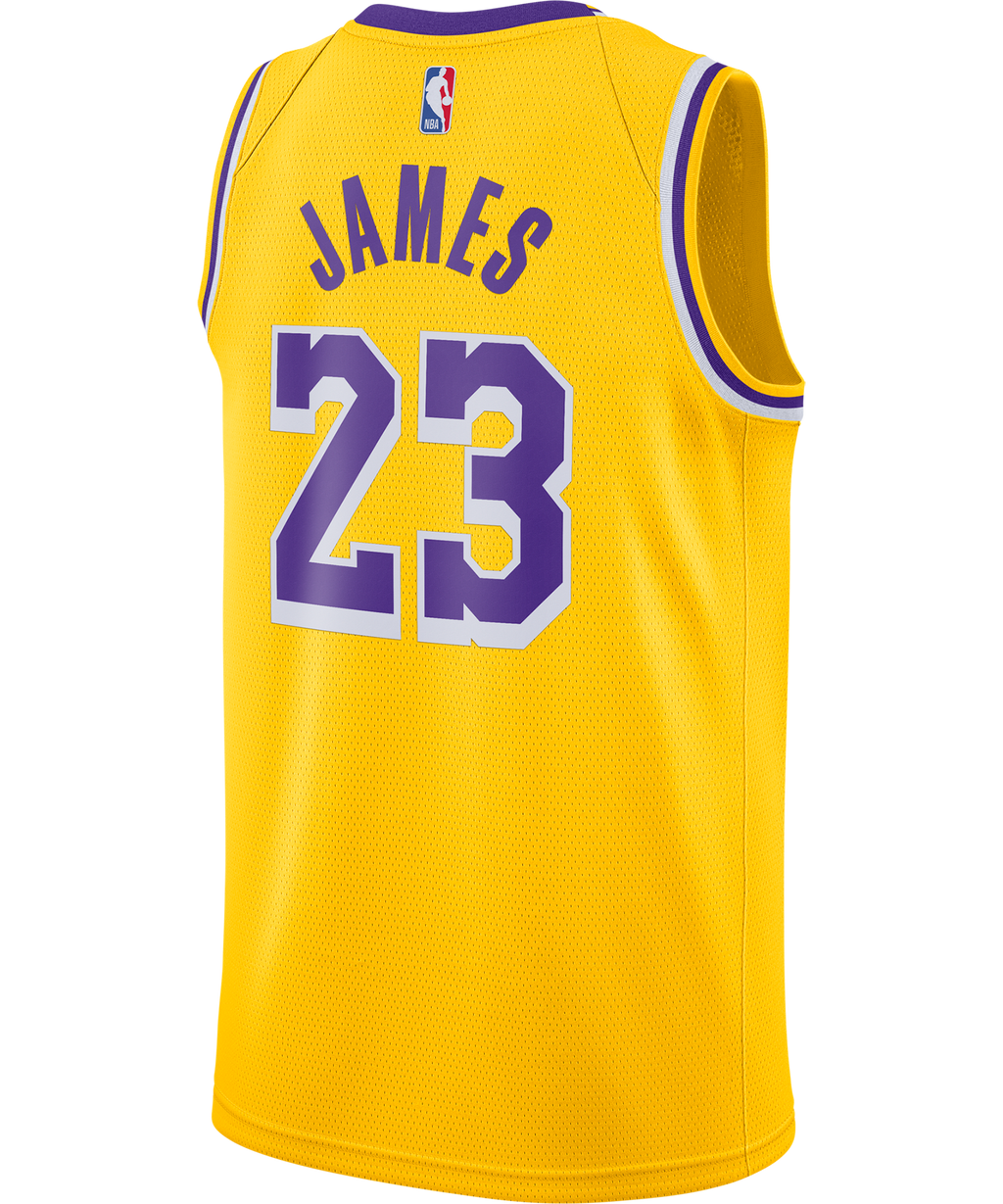 Lebron James LA Lakers Nike Icon Edition Jersey
