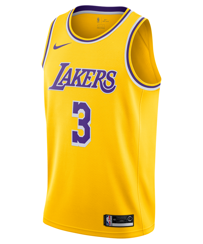 Anthony Davis LA Lakers Nike Icon Edition Jersey