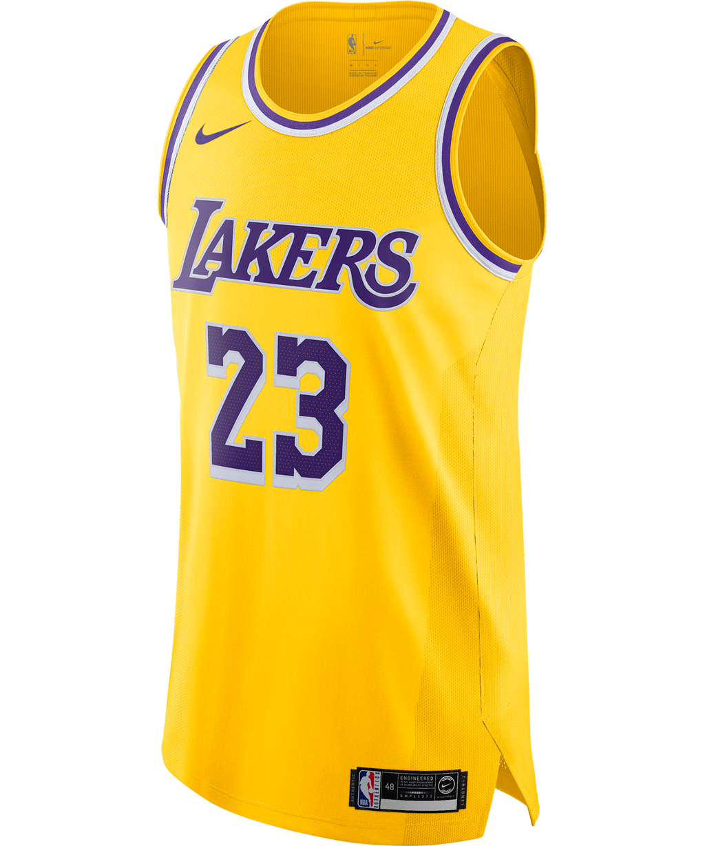 LeBron James Lakers Icon Edition Nike NBA Authentic Jersey