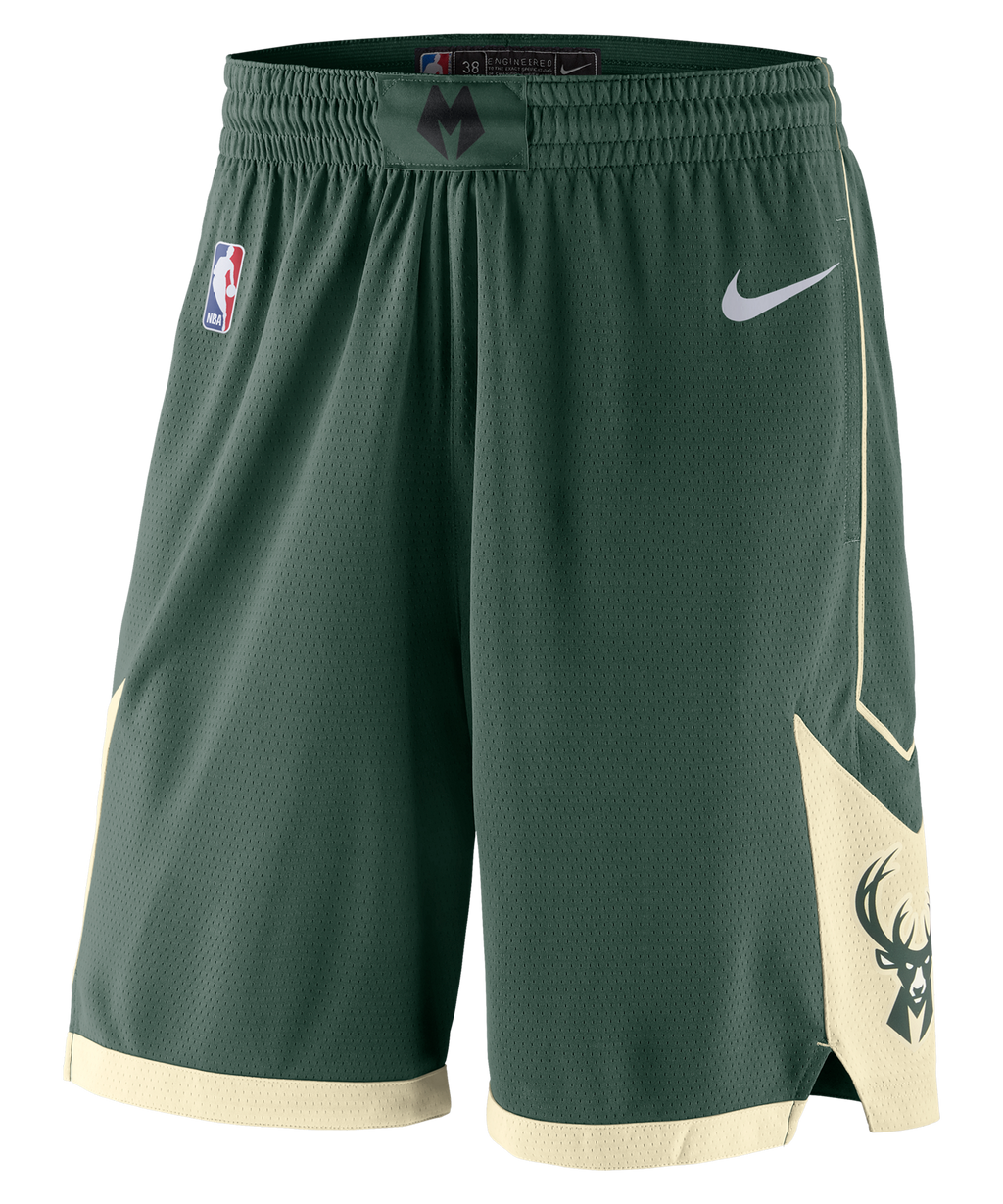 Milwaukee Bucks Nike Icon Edition Shorts