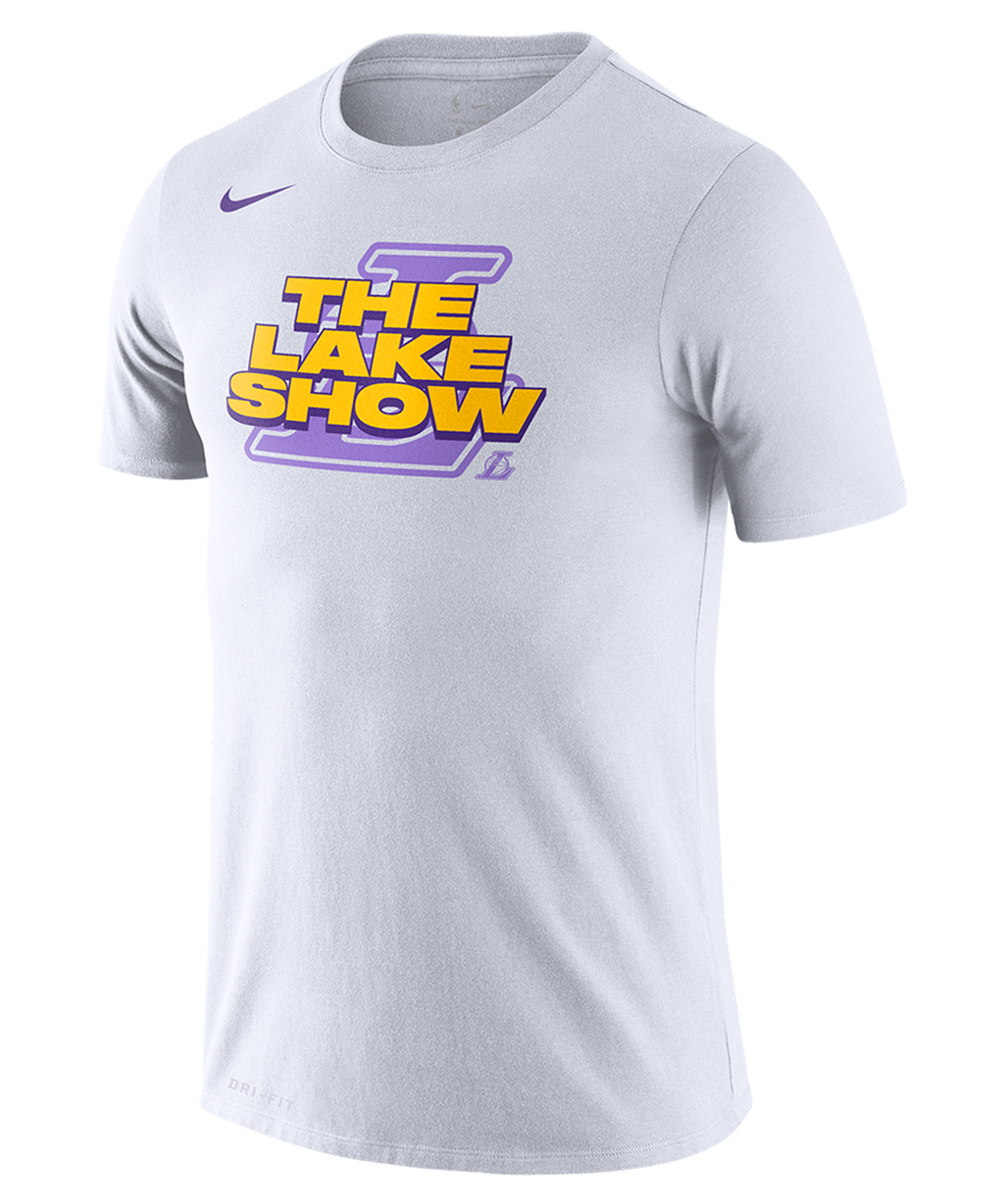 LA Lakers Nike 'The Lake Show' Mantra T-Shirt