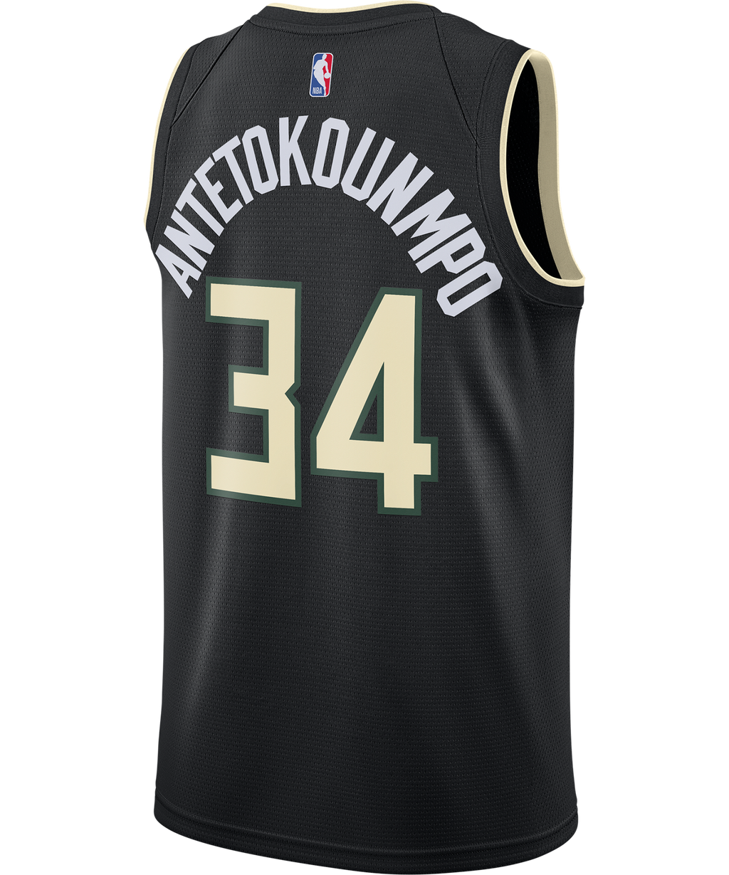 Giannis Antetokounmpo Milwaukee Bucks Nike Statement Edition Jersey