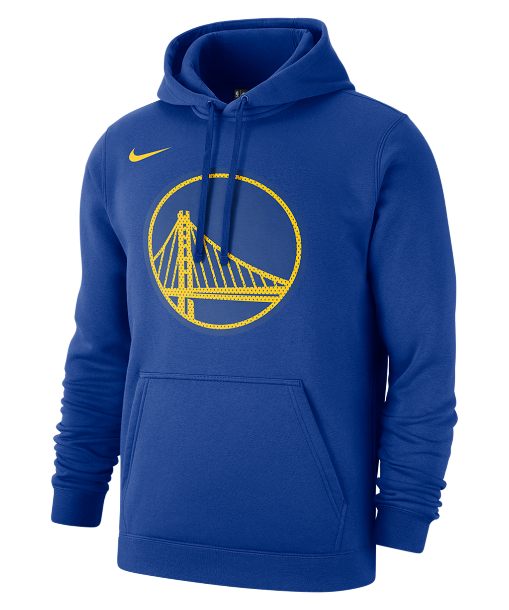Golden State Warriors Nike Pullover Fleece Hoodie