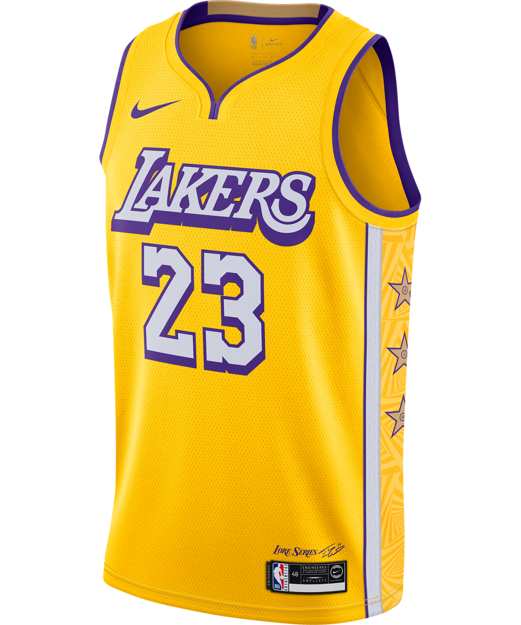 Lebron James LA Lakers Nike City Edition Jersey 19/20