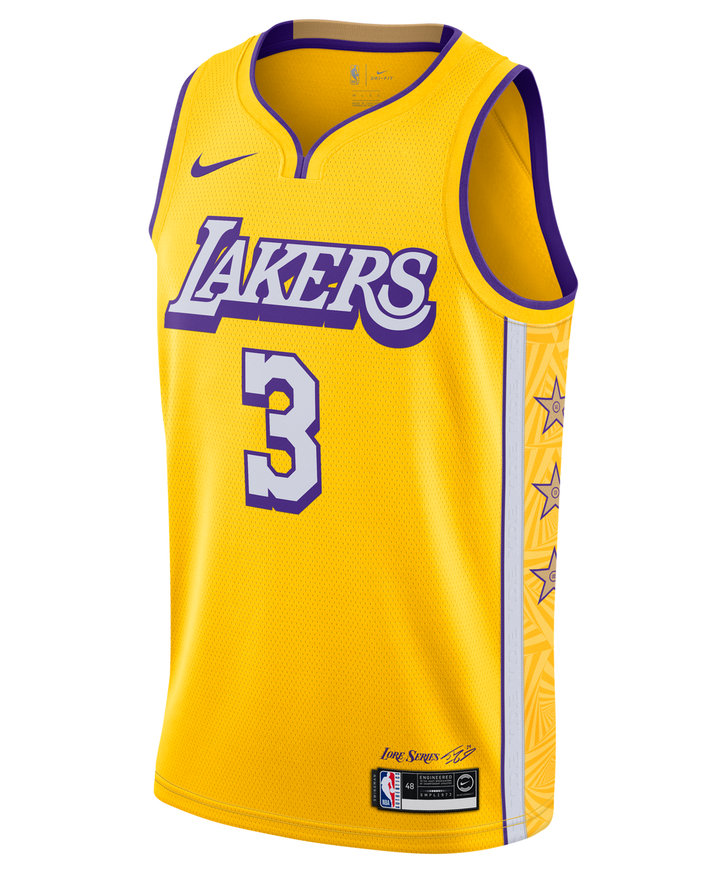 Anthony Davis LA Lakers Nike City Edition Jersey