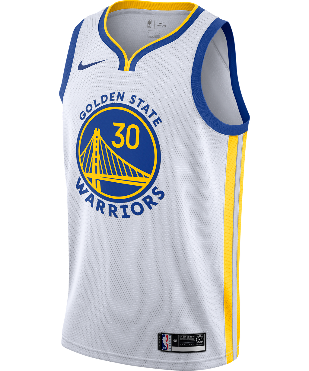 Stephen Curry Golden State Warriors Nike Association Edition Jersey