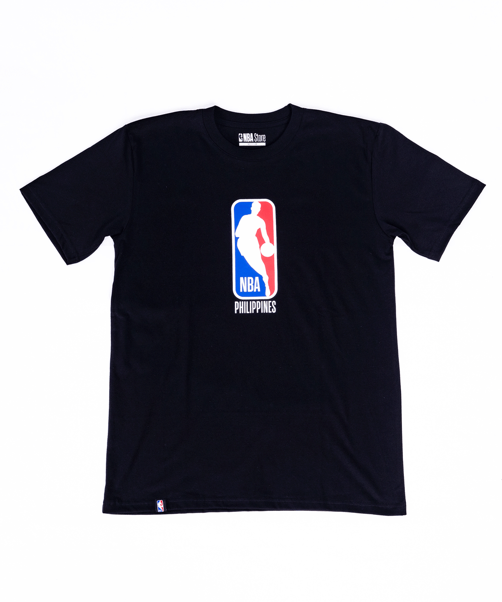 NBA Philippines Logoman Tee - Black