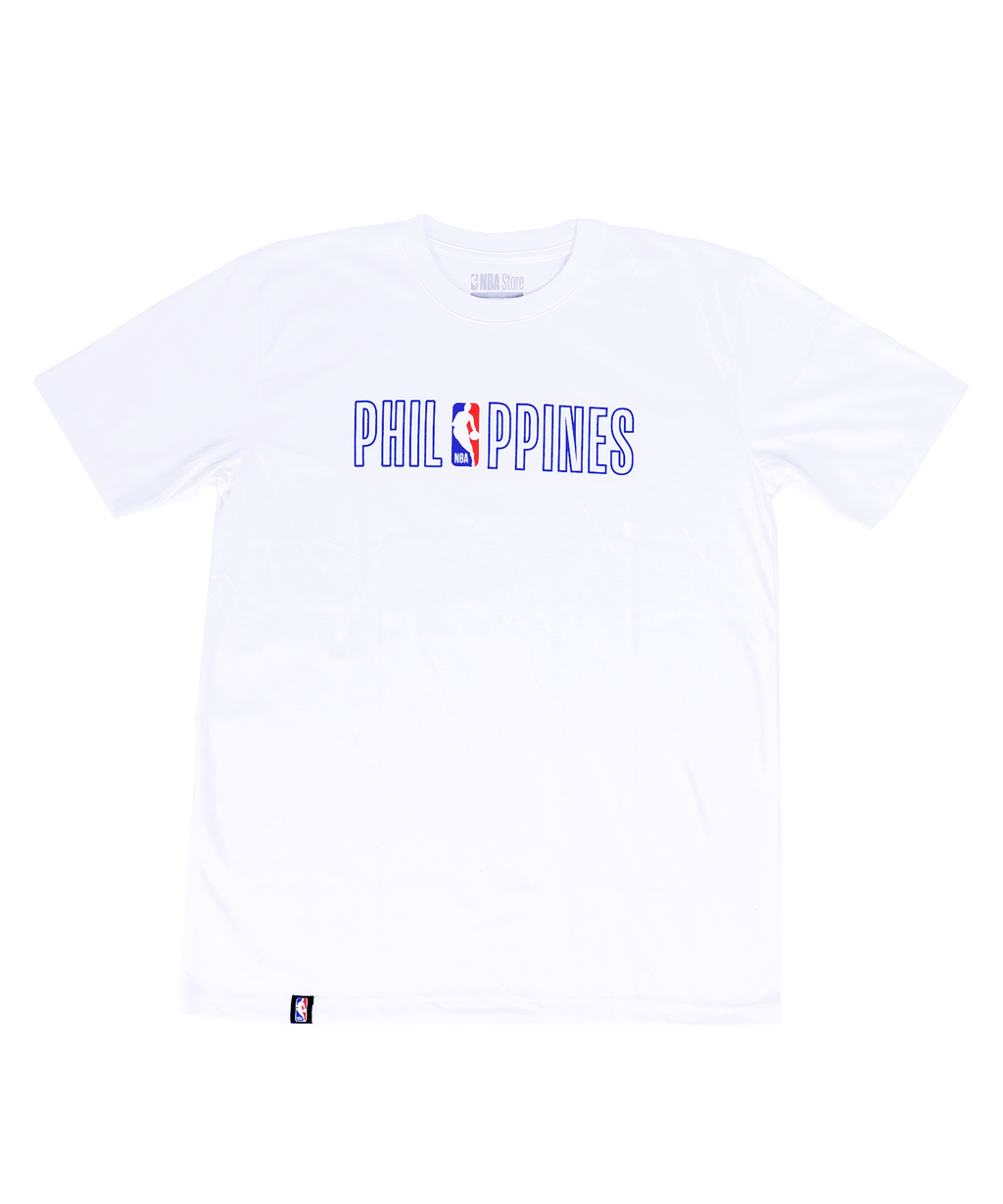 NBA Philippines PH Tee - White