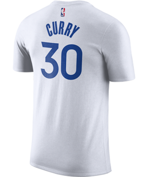 Stephen Curry Golden State Warriors Nike Association Edition Name and Number Tee