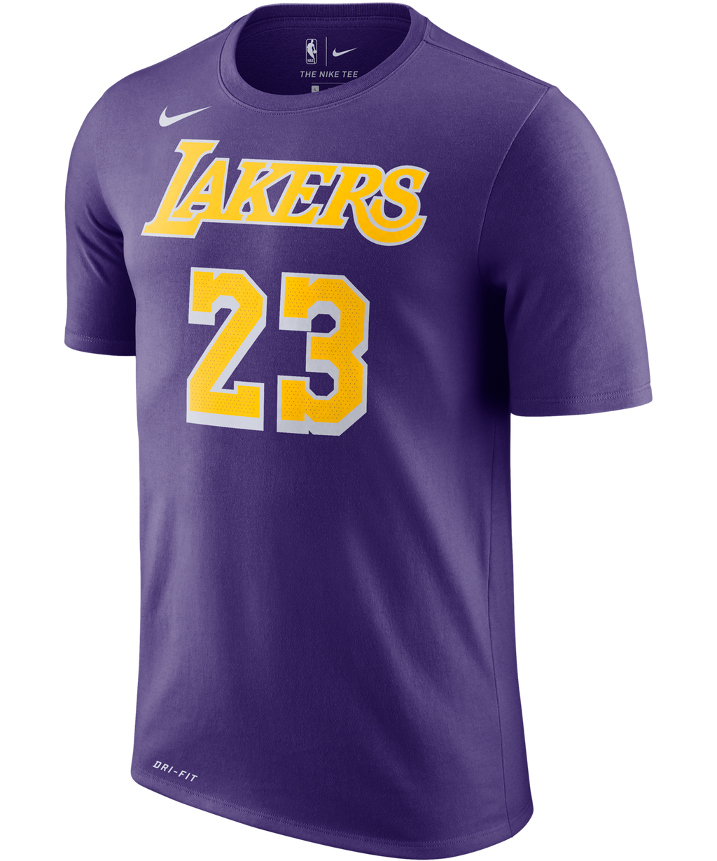 Lebron James LA Lakers Nike Statement Edition Name and Number Tee