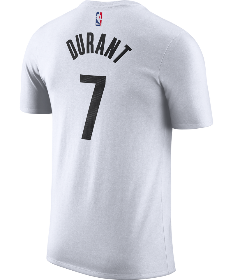 Kevin Durant Brooklyn Nets Nike City Edition Name and Number Tee
