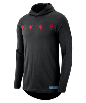 Chicago Bulls Nike Dry City Edition Hoodie