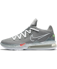 LeBron 17 Low Particle Grey/White