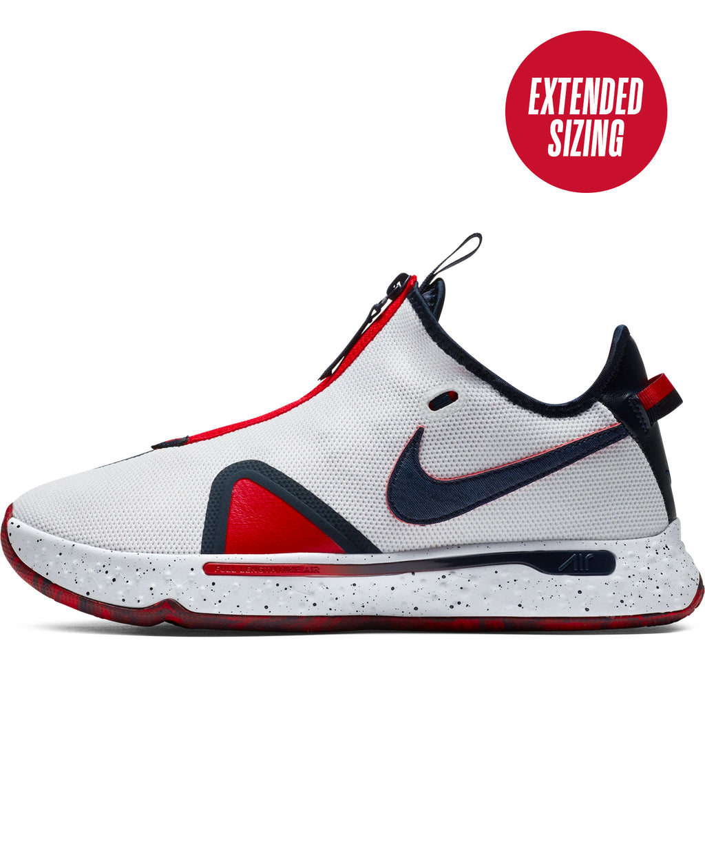 PG 4 EP White/Obsidian-University Red