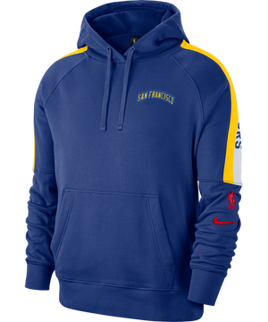 Golden State Warriors NikeLogo Fleece Pullover Hoodie