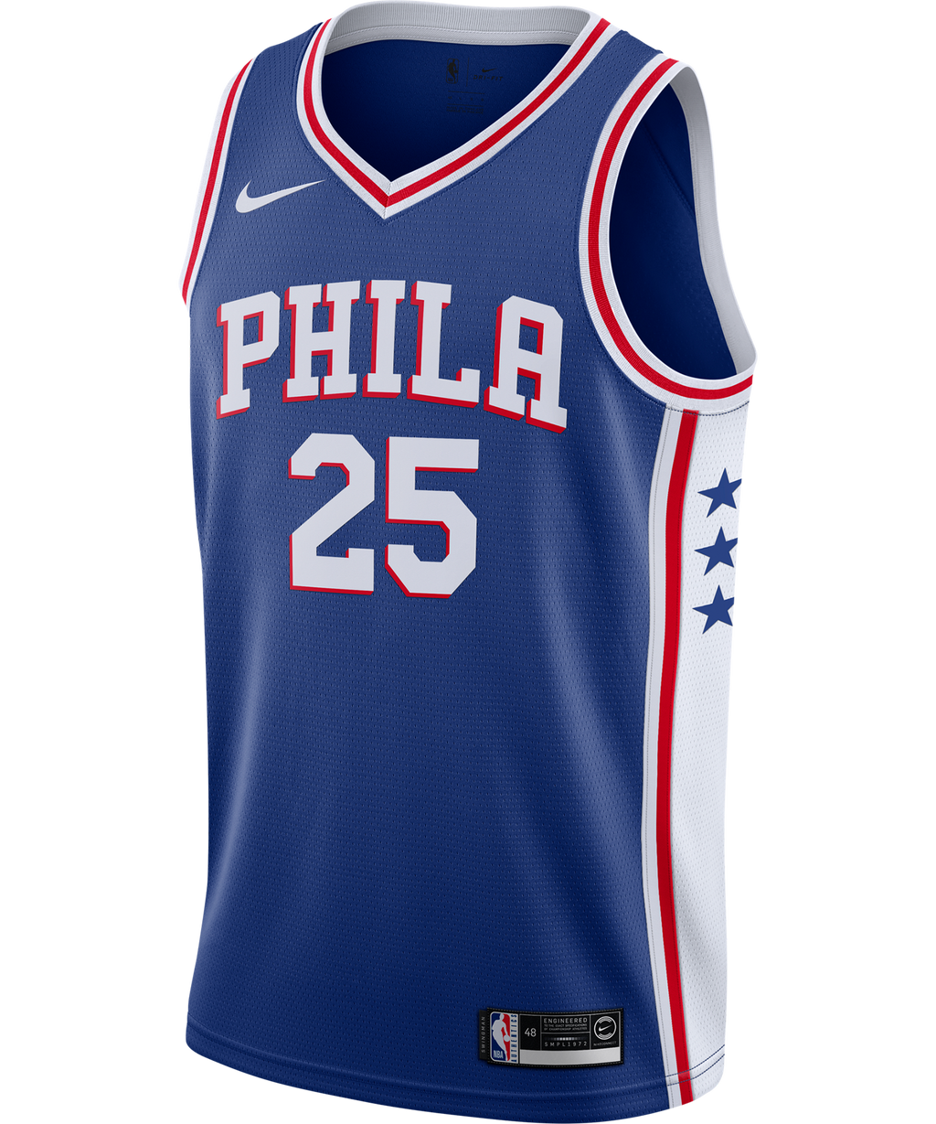 Ben Simmons Philadelphia 76ers Nike Icon Edition Jersey