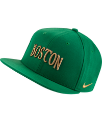 Boston Celtics Nike Pro City Edition Logo Cap