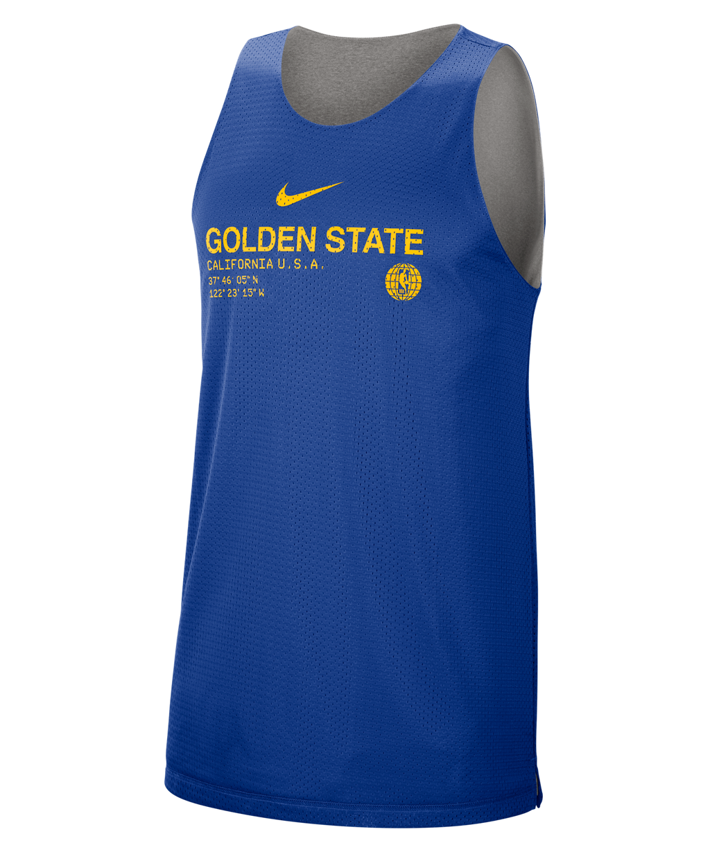 Golden State Warriors Standard Issue  Nike NBA Reversible Tank