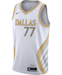 Luka Doncic Dallas Mavericks Nike City Edition Jersey 20/21
