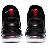 LeBron 18 Black/ University Red