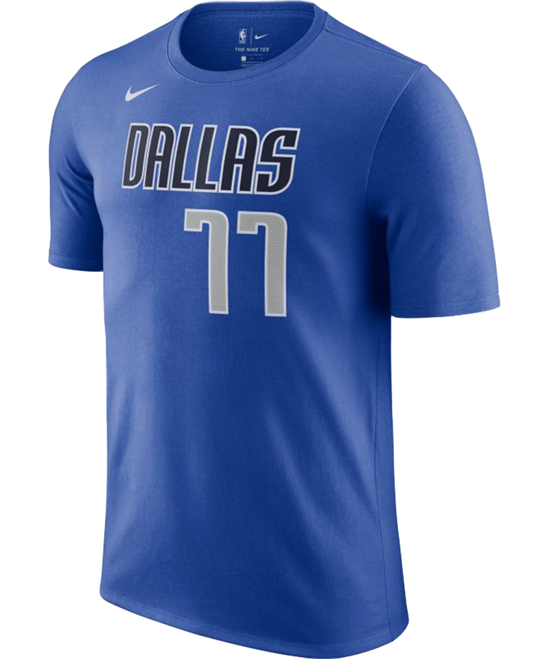 Luka Doncic Dallas Mavericks Icon Edition Name and Number Tee