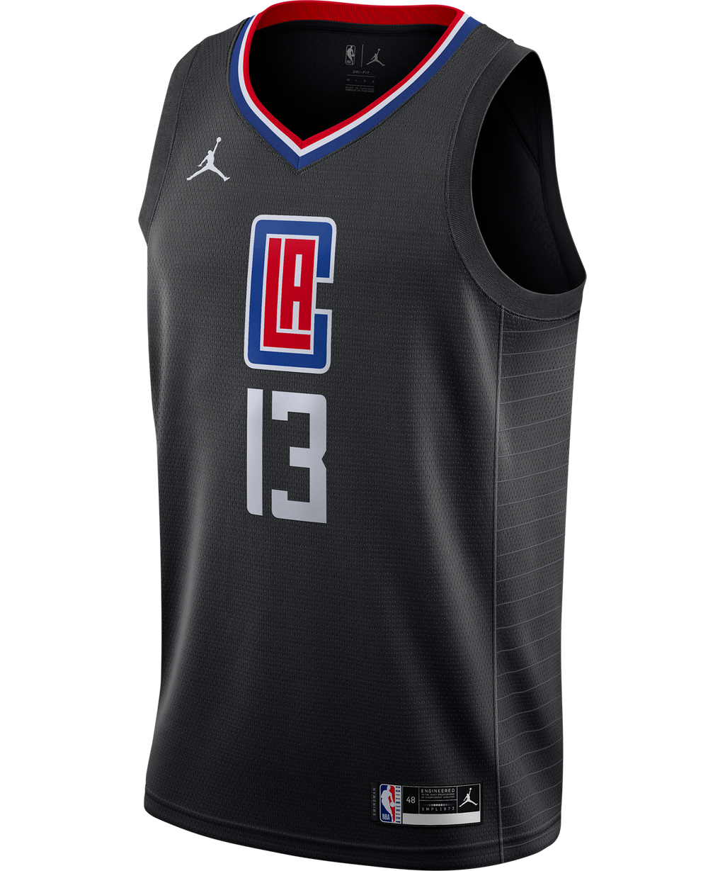Paul George LA Clippers Jordan Statement Edition Jersey 20/21