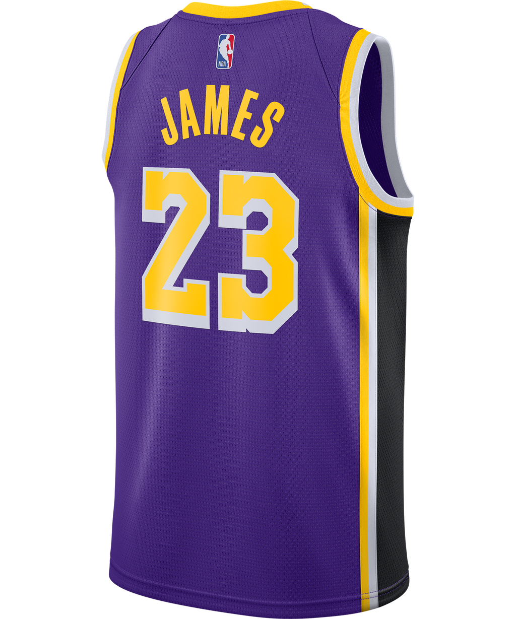 LeBron James LA Lakers Jordan Statement Edition Jersey 20/21