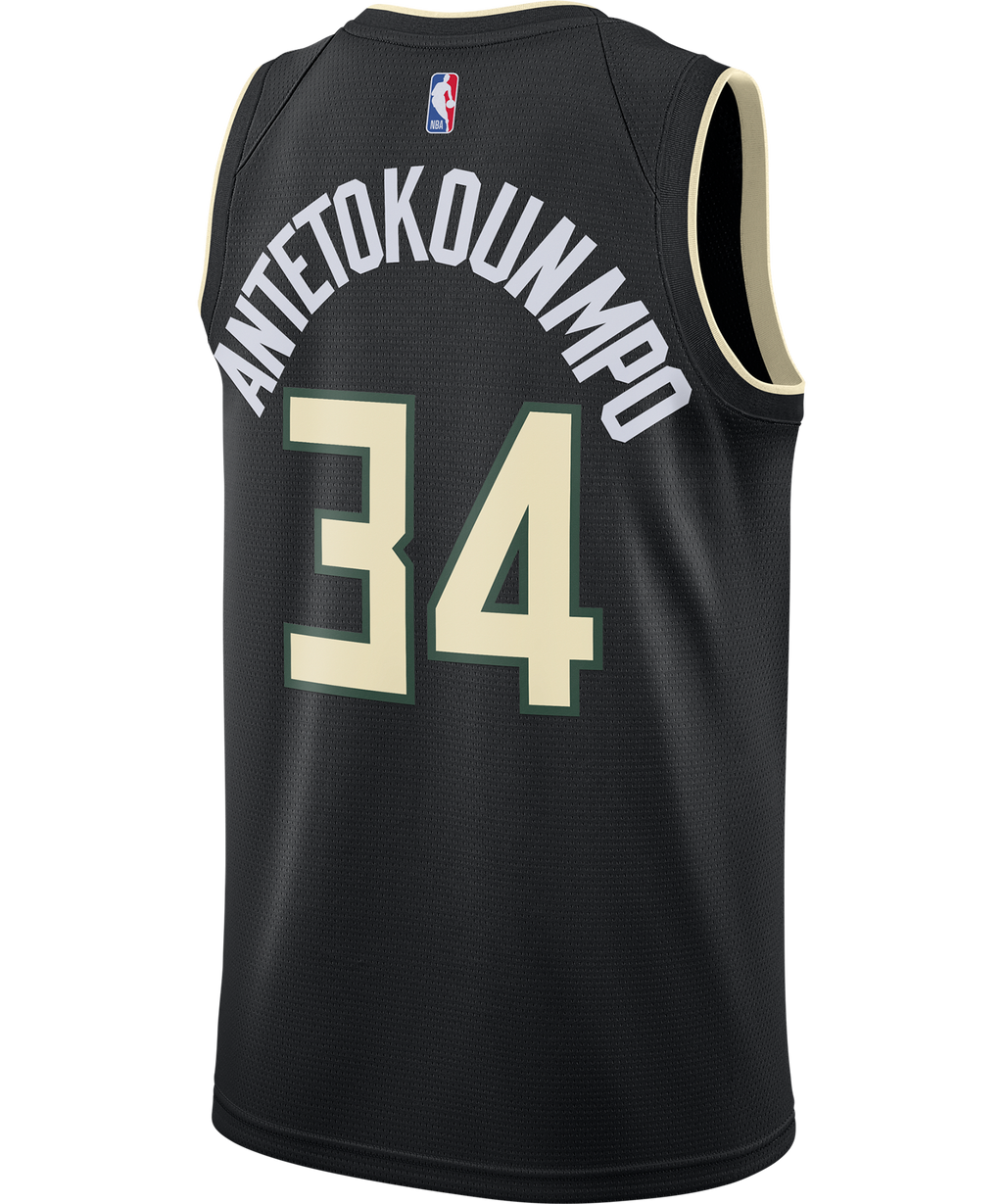 Giannis Antetokounmpo Milwaukee Bucks Jordan Statement Edition Jersey 20/21
