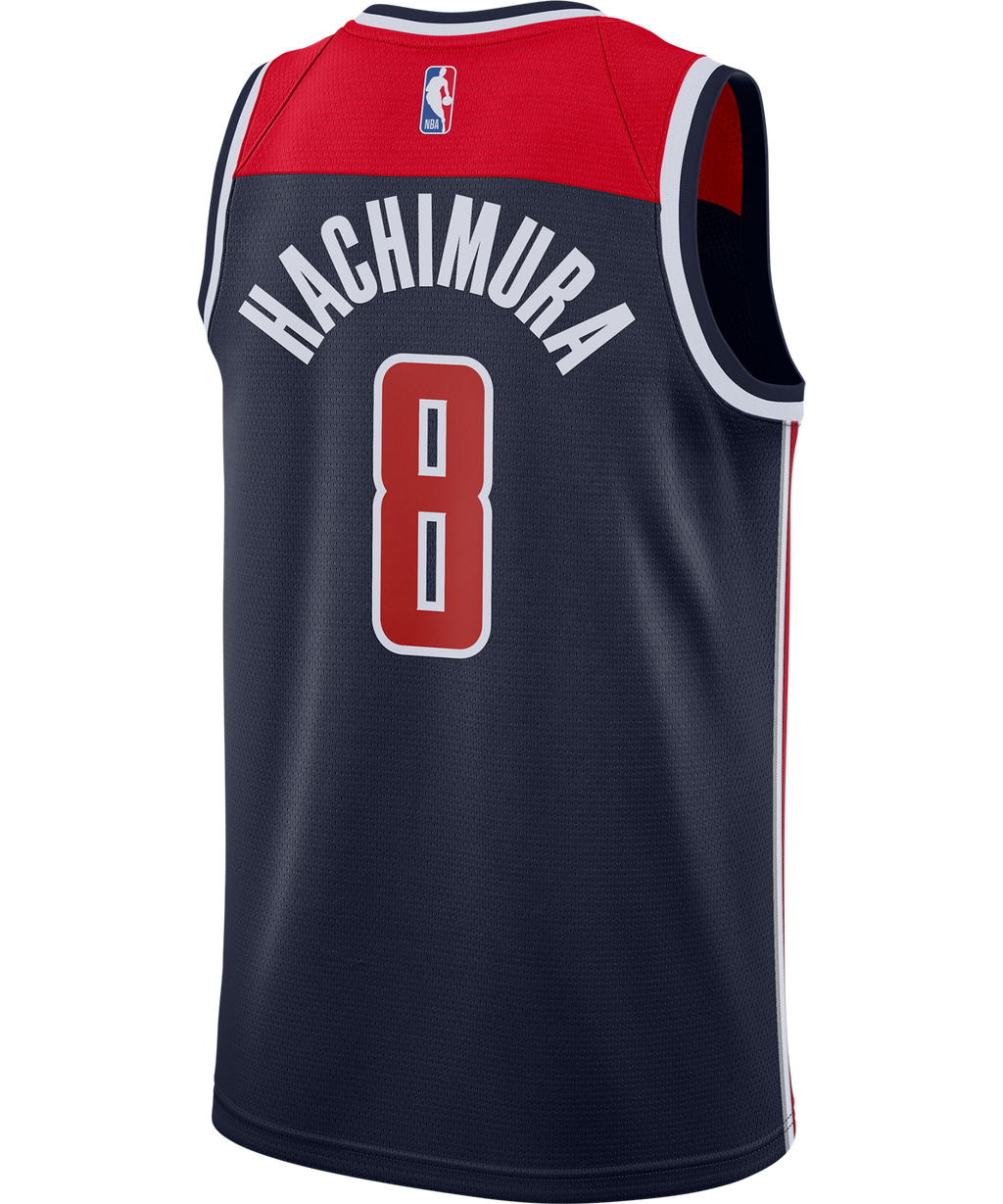 Rui Hachimura Washington Wizards Jordan Statement Edition Jersey 20/21