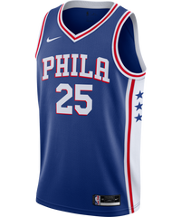 Ben Simmons Philadelphia 76ers Nike Icon Edition Jersey 20/21
