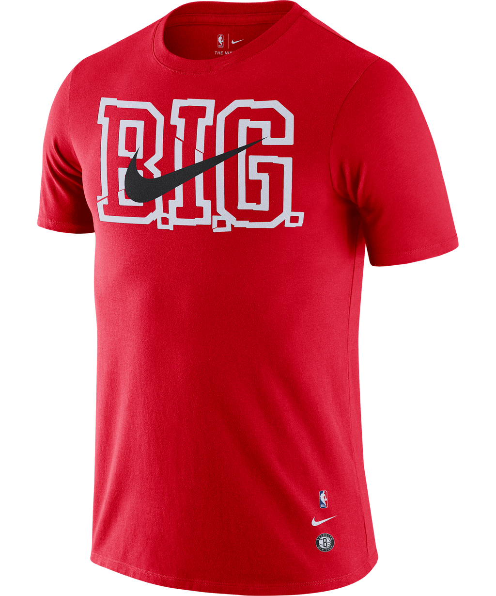 Biggie Brooklyn Nets Nike Big Memory Tee Red