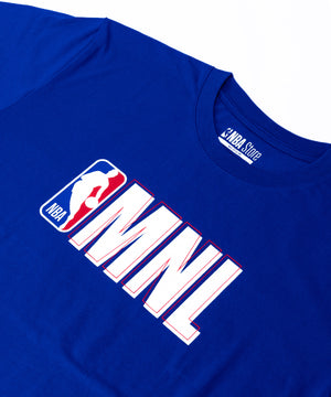 NBA Philippines MNL Tee - Royal Blue