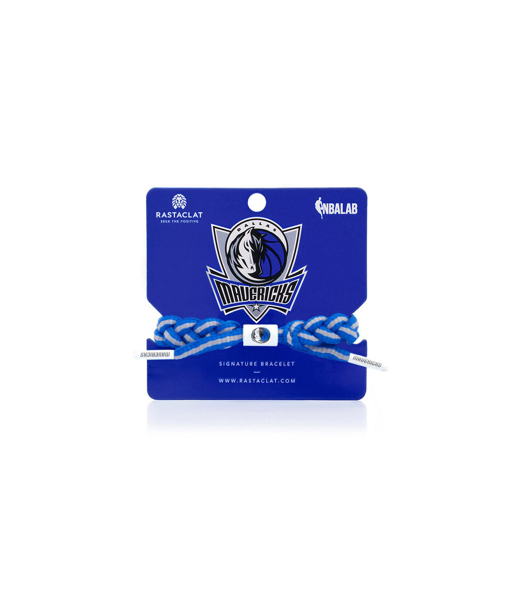 Dallas Mavericks Rastaclat Braided Bracelet