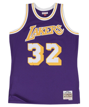 Magic Johnson LA Lakers 1984-1985 Road Swingman Jersey