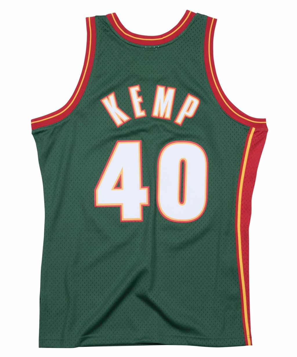 Shawn Kemp Seattle SuperSonics 1995-1996 Road Swinman Jersey