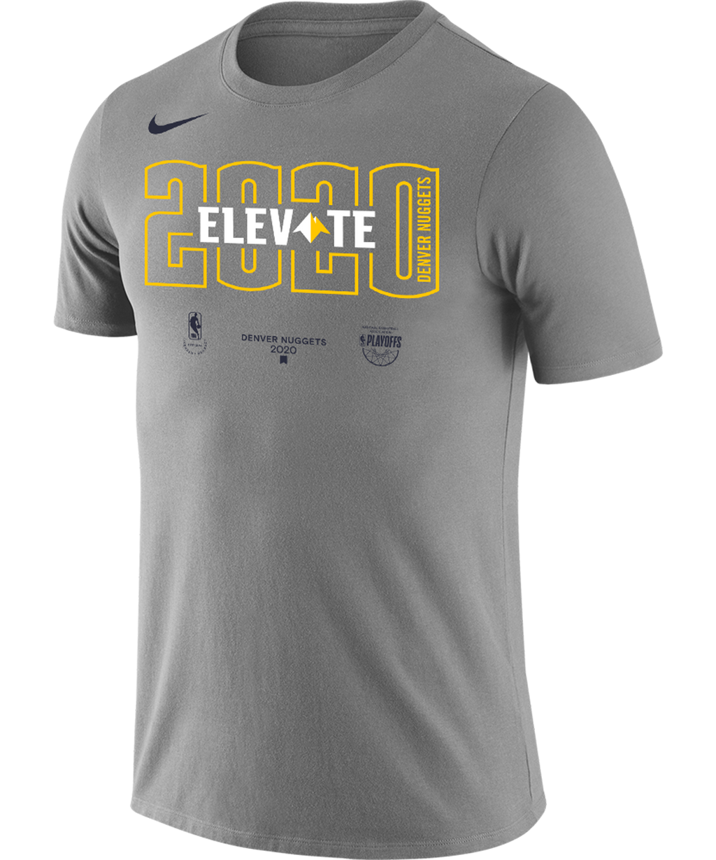 Denver Nuggets 2020 Playoffs Nike Mantra T-Shirt Grey