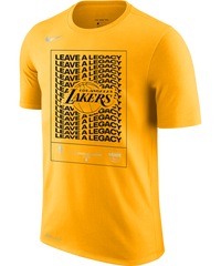 LA Lakers 2020 Playoffs Nike Mantra T-Shirt Amarillo
