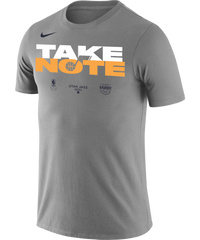 Utah Jazz 2020 Playoffs Nike Mantra T-Shirt Grey