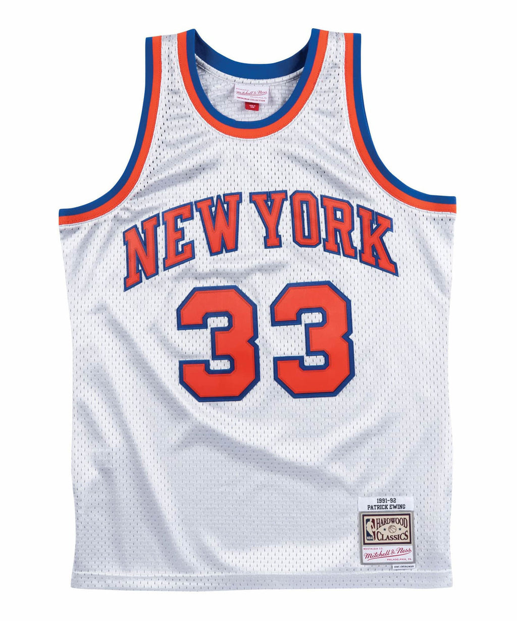 Patrick Ewing New York Knicks 1991-1992 Platinum Swingman Jersey