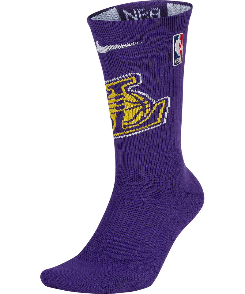 LA Lakers Elite NBA Crew Socks