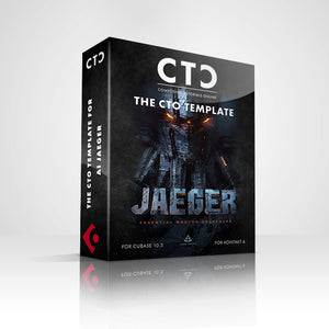 CTO CUBASE TEMPLATE - JAEGER (Audio Imperia)