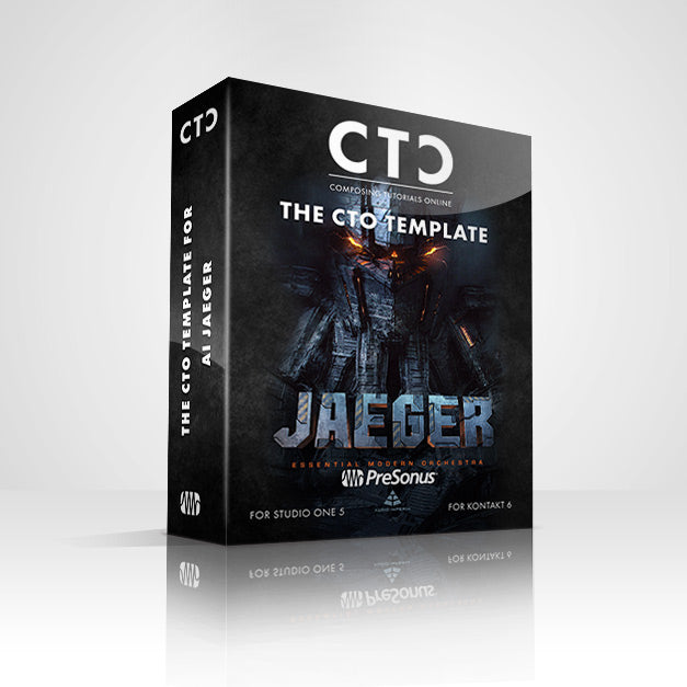 CTO STUDIO ONE TEMPLATE - JAEGER (Audio Imperia)