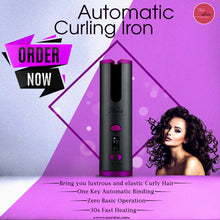 Load image into Gallery viewer, Noor Wireless Automatic Curling Iron