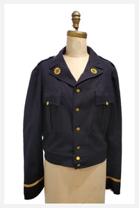 American Legion | 1947 navy wool bomber jacket