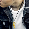 Wolf Tooth Steel Necklace