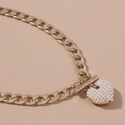 Pearla Love Heart Necklace