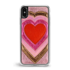 Patchwork Heart パッチワークハート iPhone XS Max用